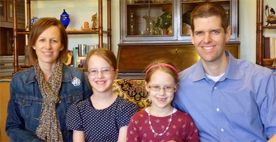 Dr. Ryan C. Cowan and Family